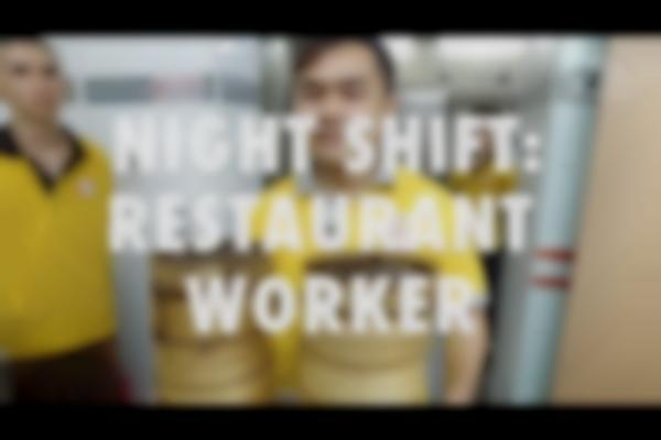 The Night Shift: Restaurant Worker
