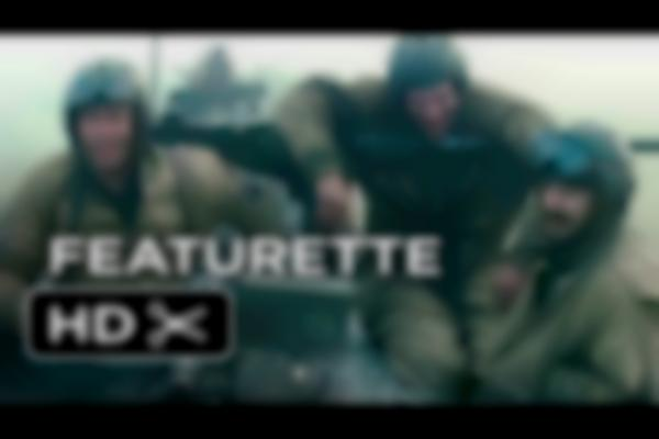 Fury Featurette - Brothers Under The Gun (2014) - Brad Pitt, Shia LaBeouf War Movie HD