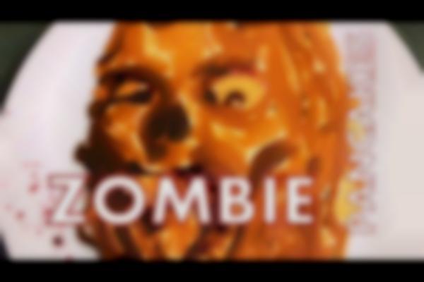How to make ZOMBIE PANCAKE ART!