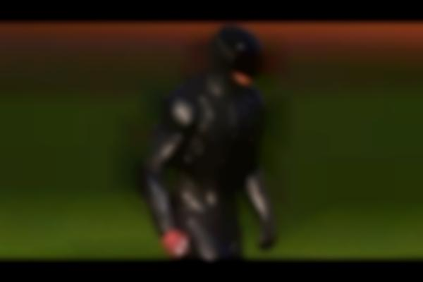 RoboCop tosses the first pitch in Detroit