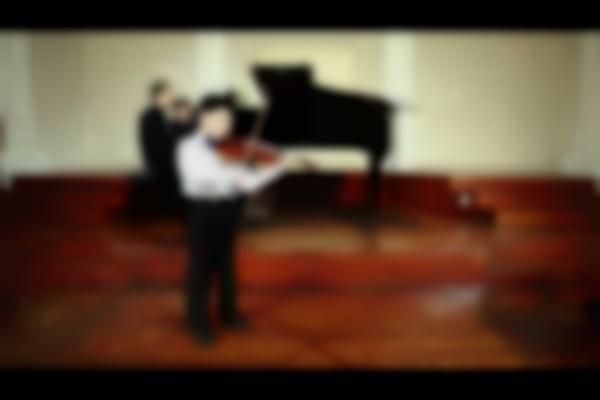 SAMUEL TAN 8 years old/ Kabalevsky Violin Concerto