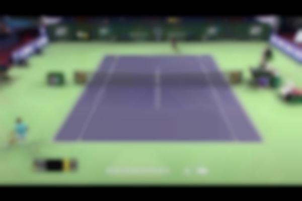 Rafael Nadal Hits Hot Shot - Shanghai 2014
