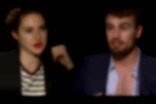 Theo James Strips & Shailene Woodley Talks Making Out - Insurgent Truth or Dare