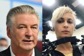 Actor Alec Baldwin (left) was rehearsing with a gun that was said to be safe when it went off, killing cinematographer Halyna Hutchins (right).