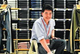 EXEMPLARY: Mr Jason Goh's performance inspired his employer to hire more intellectually disabled employees.