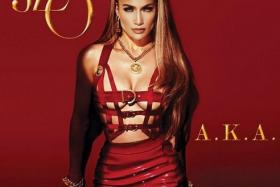 Jennifer Lopez sizzles in new album cover, A.K.A, out June 17.