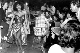 Bugis Street then was a magnet for expatriates, tourists and locals as it had great food, cheap drinks and was a hotbed for transvestites as this photo taken by Mr Tan Suan Ann, 70, illustrates.