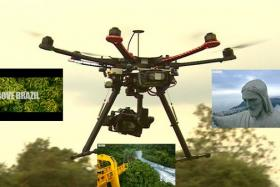 Ahead of the World Cup, the BBC used its hexacopter drone to get some glorious footage of Brazil.