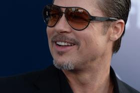 Actor Brad Pitt has spoken out about the red carpet attack that left Ukrainian TV presenter Vitalii Sediuk behind bars.