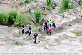 Dead baby found in ravine near Genting Highlands uncovers sex slave syndicate in Malaysia.
