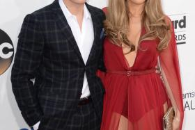 Choreographer Casper Smart and singer Jennifer Lopez appeared together on the red carpet at the 2014 Billboard Music Awards last month at the MGM Grand Garden Arena in Las Vegas.