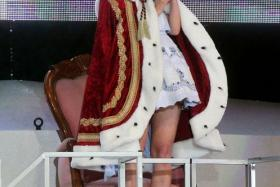 Mayu Watanabe is the new leader of Japanese group AKB48.