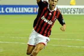 Filippo Inzaghi, AC Milan's new manager, has scored 126 goals for the club in 300 appearances.