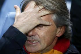 Roberto Mancini was with the Turkish club for just nine months.
