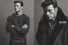 Scott Eastwood looking ever-so dapper in Hugo Boss' latest campaign.