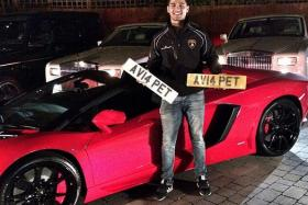 Aleem Iqbal, a 19-year-old teenager, saw four of his super cars torched in two separate attacks in the last week.