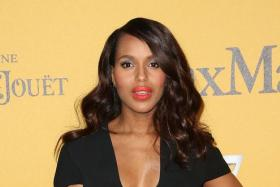 Actress Kerry Washington attends the Women In Film, Los Angeles Presents the 2014 Crystal + Lucy Awards at the Hyatt Regency Century Plaza Hotel on June 11, 2014 in Century City, California.