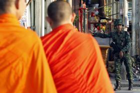 The move follows a cascade of high-profile scandals ranging from reports of monks taking drugs and drinking. PHOTO: