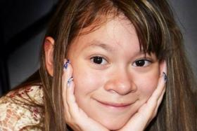 Twelve-year-old Miley Cyrus fan Caley Camarillo, died last Friday (June 13). She received a personal video message from her idol Miley Cyrus, who said she was still praying for her. PHOTO: