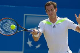 Barring any upsets, Andy Murray faces a stiff semi-final test against Novak Djokovic.  Photo:
