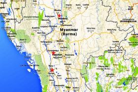The remains of the cities of Hanlin, Beikthano and Sri Ksetra in Myanmar's Irrawaddy basin were granted endangered status at the annual World Heritage Committee meeting in Doha on Sunday.