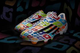 Sports apparel maker adidas have released a colourful new pair of football boots to commemorate Lionel Messi's 27th birthday.