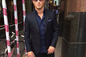 Millionaire Matt Myles, 27, has been on a world tour since he won £1 million (S$2.12 million) in a lottery two months ago.