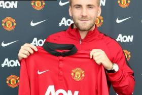 Luke Shaw has joined Manchester United on a four-year deal.