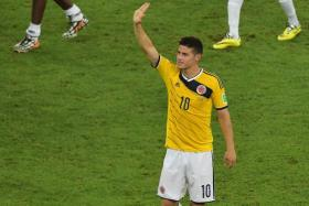 Colombia midfielder James Rodriguez is keen on a move to Spain, with Real Madrid reportedly keen on the Monaco man's services.