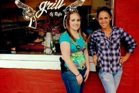 """Restaurant owner Lauren Boebert said: """"We encourage it (the carrying of guns), and the customers love that they can come here and express their rights."""""""
