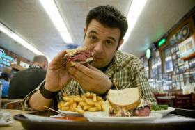 American reality show host Adam Richman has had his upcoming show cancelled after his foul exchange on Instagram made headlines last week.