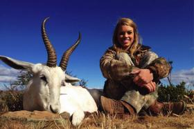 Teenage hunter Kendall Jones, 19, caused a outrage online because of the pictures she posts of her with her prized kills.