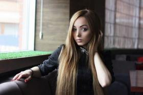Ms Alina Kovalevskaya, 21, said she has never went under the knife to achieve her Barbie looks.