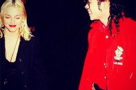 Madonna on a date with Michael Jackson in 1991 - one of the couple of throwback photos celebrities posted this week.