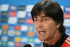 Germany coach Joachim Loew wants referee Marco Antonio Rodriguez to stop Brazil from roughing up his players.