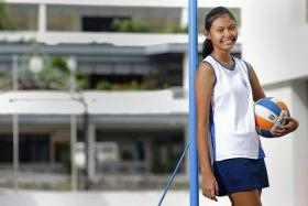 """""""Whenever I go for training, all the stress suddenly just goes away. When I'm playing netball, I feel like nothing else matters except for me and the game. It's like an escape for me."""" - Dahlia Asni"""