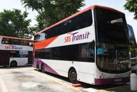 Ten SBS Transit bus services will end their trips early on Chinese New Year eve