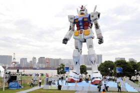 Japan has unveiled plans make the full scale RX-78 Gundam statue built in 2009 move by 2019.