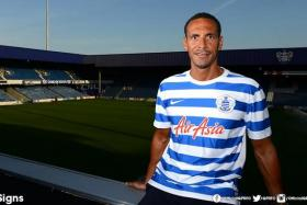 Rio Ferdinand will be reunited with former West Ham boss Harry Redknapp after signing for Queens Park Rangers on a free transfer.