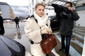 Corinna Schumacher's has thanked fans of the Formula One great for their support through the dark days of Michael Schumacher's fight for life after a skiing accident and offered hope for his future recovery.