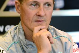 Formula One legend Michael Schumacher is now communicating with his family by fluttering his eye-lashes.