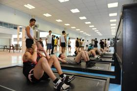 Dr Ng Eng Hen announced changes to the IPPT test, which will have three stations.