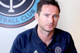 New York City FC's new signing Frank Lampard has apologised for his drunken rant at stranded US tourists just after the 911 terror attacks.