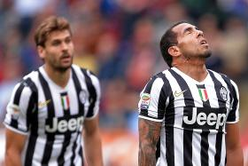 The father of Juventus striker Carlos Tevez(above) was kidnapped in Buenos Aires on Tuesday before being released following the payment of a ransom.