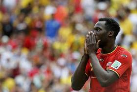 OPPORTUNITY KNOCKS: Romelu Lukaku (above) has the chance to cement his status as a world-class centre forward at Everton.