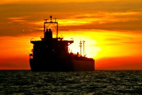 A file photo of an oil tanker. A hijacked Singaporean oil tanker was released on Sunday, a week after being seized by pirates in waters off Ghana.