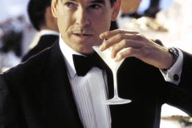 """Pierce Brosnan who played James Bond. Sure, you can be a """"super spy"""" like him."""