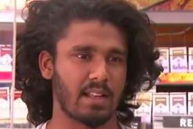 Mayura Dissanayake, a Sri Lankan MMA fighter now living in Texas, became an online celebrity after a video of him beating up would-be robbers outside the store he works went viral.