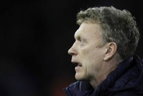 Spotted: David Moyes was seen watching a Celtic game from the stands.