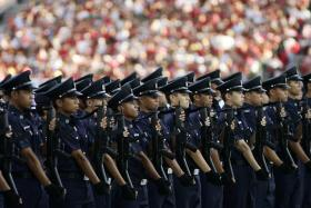 ADDING TO THEIR RANKS: With up to $30,000 in signing-on bonuses, police aim to attract more to join up.